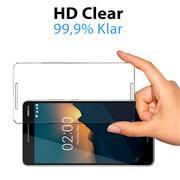 Panzerglas für Nokia 2.1 Glas Folie Displayschutz Schutzfolie
