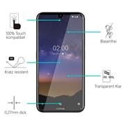 Panzerglas für Nokia 2.2 Glas Folie Displayschutz Schutzfolie