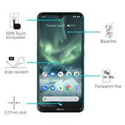 Panzerglas für Nokia 7.2 / 6.2 Glas Folie Displayschutz Schutzfolie