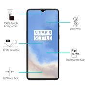 Panzerglas für OnePlus 7T Glas Folie Displayschutz Schutzfolie