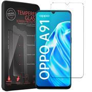 Panzerglas für OPPO A91 Glas Folie Displayschutz Schutzfolie