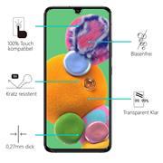 Panzerglas für Samsung Galaxy A90 5G Glas Folie Displayschutz Schutzfolie