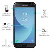 Panzerglas für Samsung Galaxy J3 2017 Glas Folie Displayschutz Schutzfolie