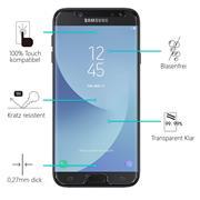 Panzerglas für Samsung Galaxy J7 2017 Glas Folie Displayschutz Schutzfolie