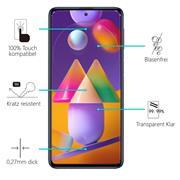 Panzerglas für Samsung Galaxy M31s Glas Folie Displayschutz Schutzfolie