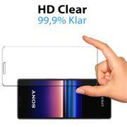 Panzerglas für Sony Xperia 10 II Glas Folie Displayschutz Schutzfolie