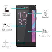 Panzerglas für Sony Xperia E5 Glas Folie Displayschutz Schutzfolie