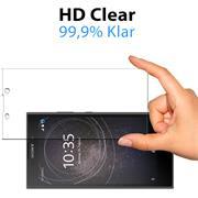 Panzerglas für Sony Xperia L2 Glas Folie Displayschutz Schutzfolie