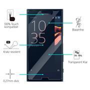 Panzerglas für Sony Xperia X Compact Glas Folie Displayschutz Schutzfolie
