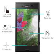 Panzerglas für Sony Xperia XZ1 Glas Folie Displayschutz Schutzfolie