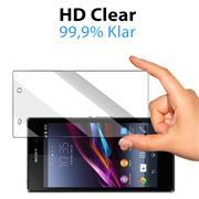 Panzerglas für Sony Xperia Z1 Glas Folie Displayschutz Schutzfolie
