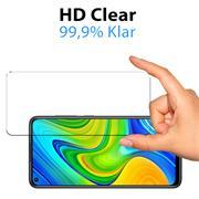 Panzerglas für Xiaomi Mi 10T / 10T Pro Glas Folie Displayschutz Schutzfolie
