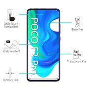 Panzerglas für Xiaomi Poco F2 Pro Glas Folie Displayschutz Schutzfolie