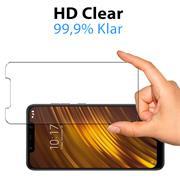 Panzerglas für Xiaomi Pocophone F1 Glas Folie Displayschutz Schutzfolie