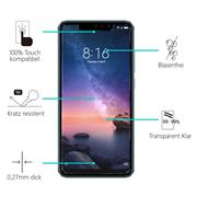 Panzerglas für Xiaomi Redmi Note 6 Pro Glas Folie Displayschutz Schutzfolie