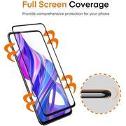 Fullscreen Panzerglas für Samsung Galaxy A21s Glas Folie Curved Schutzfolie