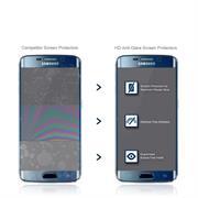 Fullscreen Panzerfolie für Samsung Galaxy S6 Edge [PET + TPU Material] Schutzfolie [Vollständige Abdeckung] Folie
