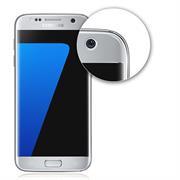 Fullscreen Panzerfolie für Samsung Galaxy S7 [PET + TPU Material] Schutzfolie [Vollständige Abdeckung] Folie