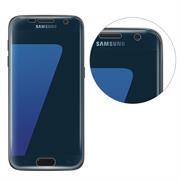 Fullscreen Panzerfolie für Samsung Galaxy S7 Edge [PET + TPU Material] Schutzfolie [Vollständige Abdeckung] Folie