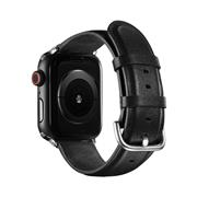 Leder Armband 42/44mm für Apple Watch Series 1 / 2 / 3 / 4 / 5 / 6 / SE Ersatzarmband Uhrenarmband