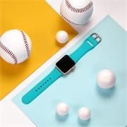Sport Armband Gr. S 38/40 mm für Apple Watch Series 1 / 2 / 3 / 4 / 5 / 6 / SE Ersatzarmband Silikon Band