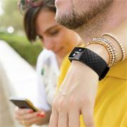 Sport Armband Gr. S für Fitbit Charge 3, Charge 4 Ersatzarmband Fitness Silikon Band Ersatzband