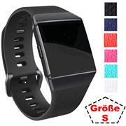 Sport Armband Gr. S für Fitbit Ionic Ersatzarmband Fitness Silikon Band Ersatzband