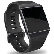 Sport Armband Gr. L für Fitbit Ionic Ersatzarmband Fitness Silikon Band Ersatzband