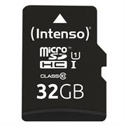 Intenso Premium 32 GB Micro SD SDHC Speicherkarte + Adapter Class 10 Card Karte