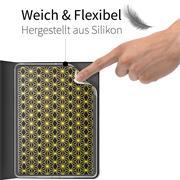 Klapphülle für Apple iPad Air 2 Hülle Tasche Textil Case Schutzhülle