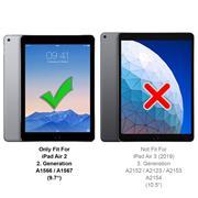 Klapphülle für iPad Air 2 Hülle Tasche Flip Cover Case Schutzhülle