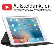 Klapphülle für Apple iPad Air Hülle Tasche Textil Case Schutzhülle
