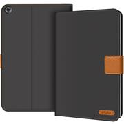 Klapphülle für Huawei Mediapad M5 Lite Hülle Tasche Textil Case Schutzhülle