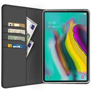 Klapphülle für Samsung Galaxy Tab A 10.1 2019 Hülle Tasche Textil Case Schutzhülle
