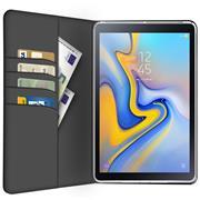 Klapphülle für Samsung Galaxy Tab A 10.5 2018 Hülle Tasche Textil Case Schutzhülle