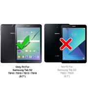 Klapphülle für Samsung Galaxy Tab S2 9.7 Hülle Tasche Flip Cover Case Schutzhülle
