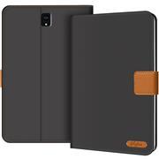 Klapphülle für Samsung Galaxy Tab S4 10.5 Hülle Tasche Textil Case Schutzhülle