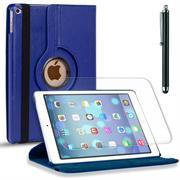 Rotation Tasche für - Apple iPad Air - Hülle drehbare Klapphülle Case in Blau
