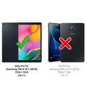 Matte Silikon Hülle für Samsung Galaxy Tab A 10.1 2019 2019 2018 Backcover Tasche Case