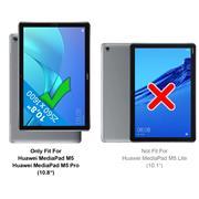 Displayschutz für Huawei Mediapad M5 / M5 Pro 10.8 Panzerglas Schutz Glas Panzer Folie Glasfolie