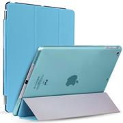 Smart Cover - Apple iPad 2 / 3 / 4 - Hülle mit Wake UP Funktion Slim Tasche Backcase in Blau