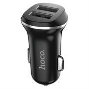 Hoco Dual 2x USB KFZ Ladegerät Z1 Set mit Lightning Kabel und Stecker Adapter 2.1A