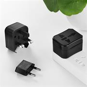 Hoco Reiseadapter AC1 Travel Stecker Adapter USA UK Schweiz China Australien Welt Universal