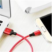 Hoco USB Kabel High Speed X14 - Micro USB Stecker 2m schnell Ladekabel Nylon Datenkabel