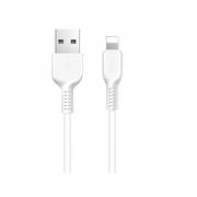 Hoco USB Kabel Flash X20 - 2m Lightning Ladekabel verstärkte Kabelführung Datenkabel