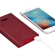 Hoco Power Bank B12A mit 13000 mAh Dual 2x USB externer Akku schnell Ladefunktion Ladegerät