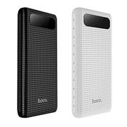Hoco Power Bank B20A mit 20000 mAh Dual USB 2.1A Digital Statusanzeige externer Akku Ladegerät
