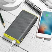 Hoco Power Bank B31A mit 30000 mAh Dual 2x USB externer Akku schnell Ladefunktion Ladegerät