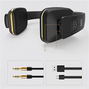 Hoco Wireless Kopfhörer W9 Bluetooth kabelloses Stereo Headset mit Mikrofone 5h Laufzeit On-Ear
