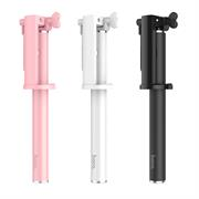 Hoco Selfie Stick K5 Metallgehäuse Stange mit Kabelsteuerung für AUX - extrem stabil